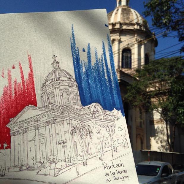 Sketch Panteón.