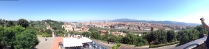 Panorâmica - Vista Piazzale Michelangelo