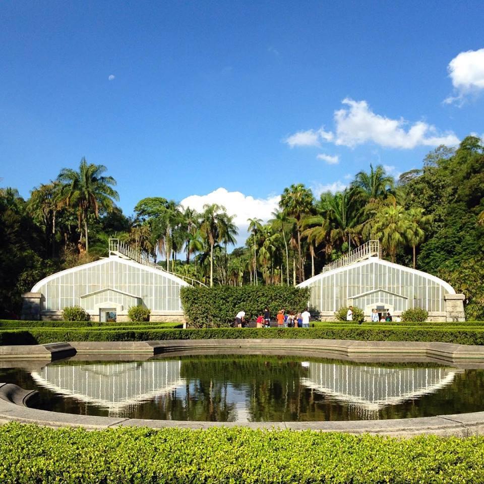 Estufas - Jardim Botânico.