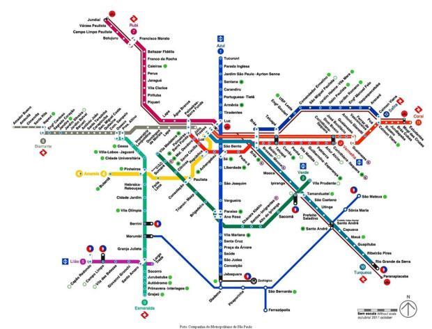 Metro São Paulo. Foto retirada de: