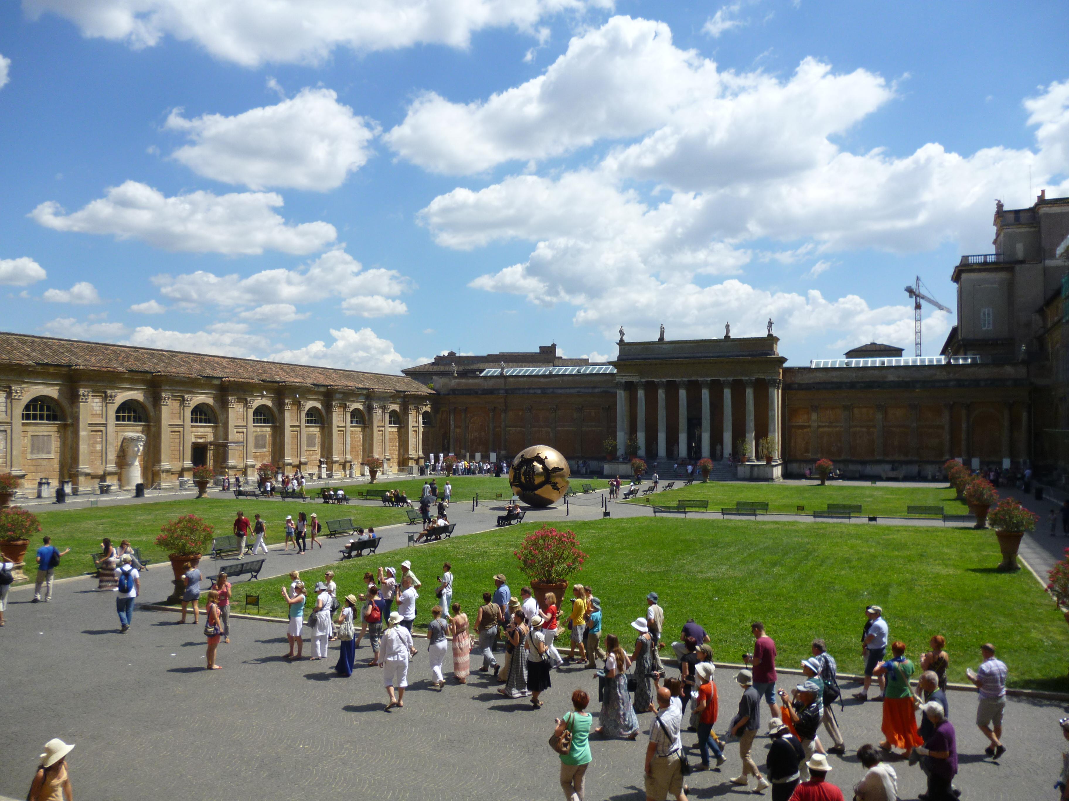 Praça Museu Vaticano