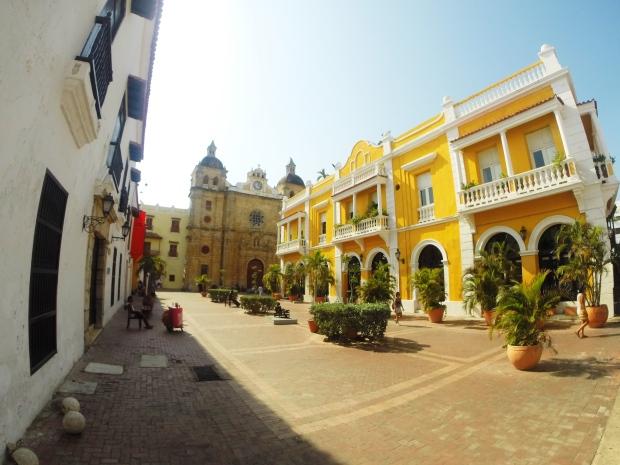 Iglesia y Plaza San Pedro Claver