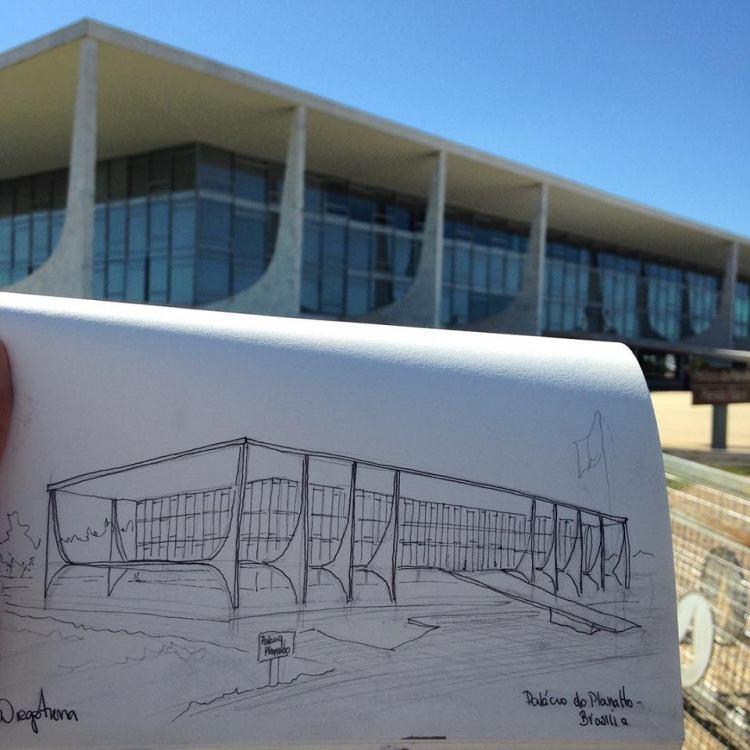 Sketch Palácio do Planalto